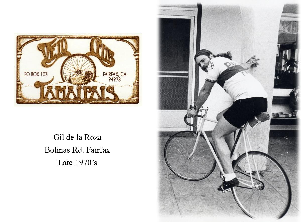 Gil Track Bike & card