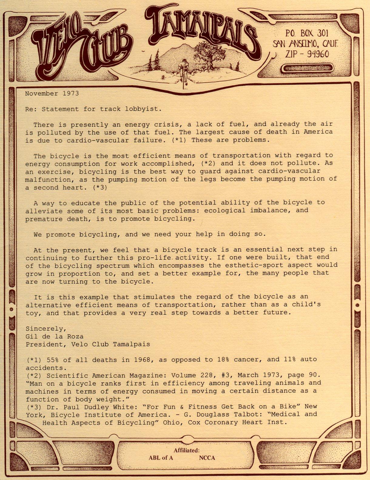 Track Letter