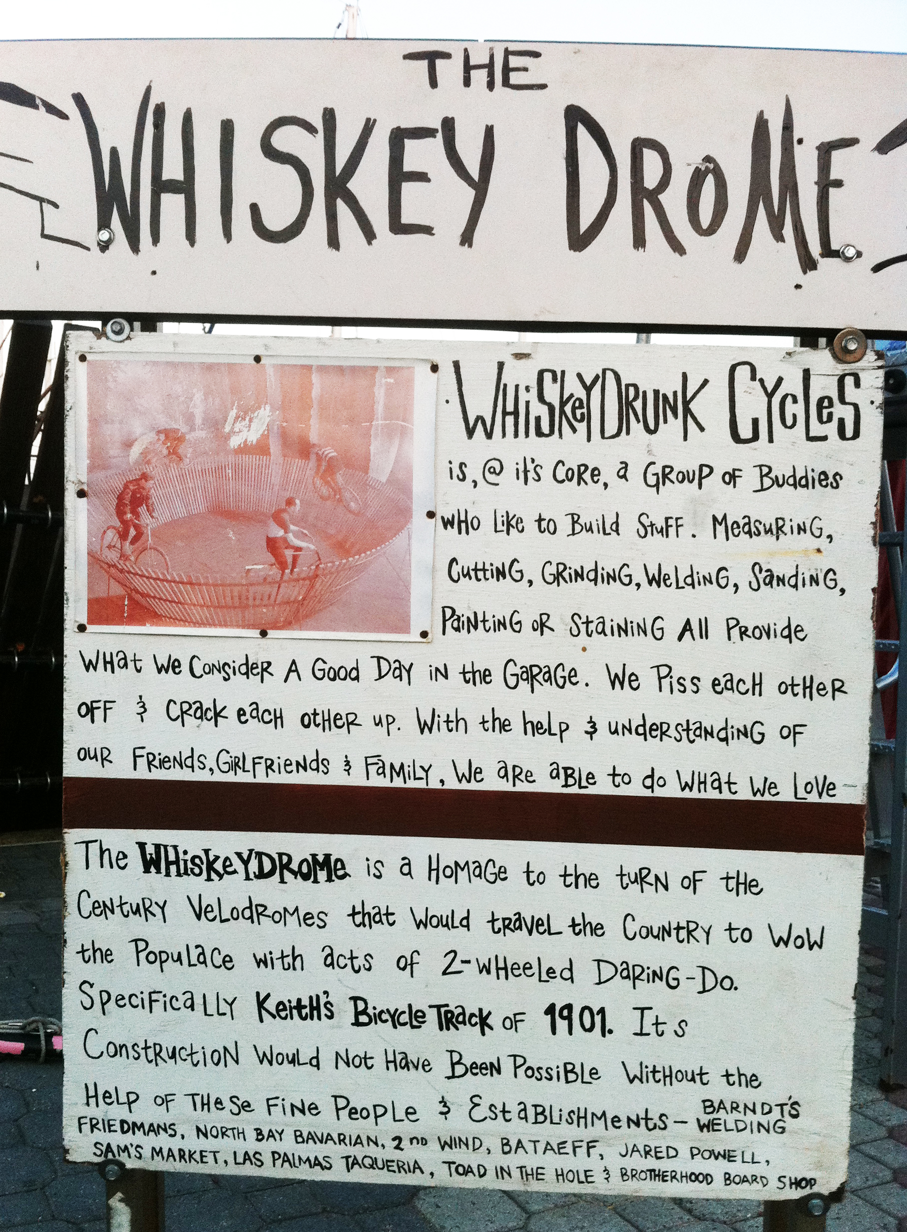whiskeydrome sign